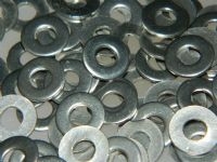 "10 x Flat Washers Stainless Steel Fit 3/16"" Bolt M4 Metric [N5]"